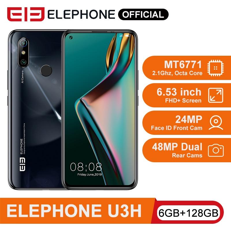 ELEPHONE U3H Helio P70 Octa Core Smartphone 6GB 128GB 6.53