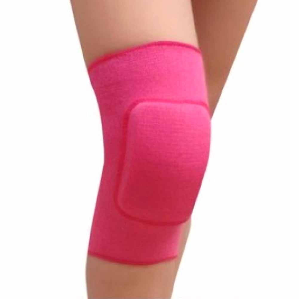 Cotton Children Dance Knee Protector Pad Yoga Sports Elastic Breathable Kneepads Relief Prevent Knee Guard