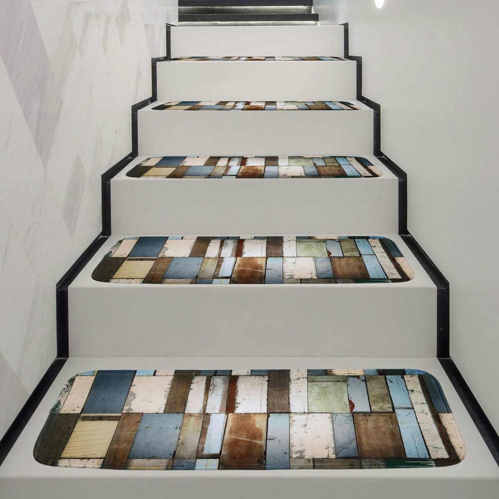 1 5 pieces tapis d escalier marches tapis de marche d escalier pour tapis de paillasson antiderapant tapis 70x22cm