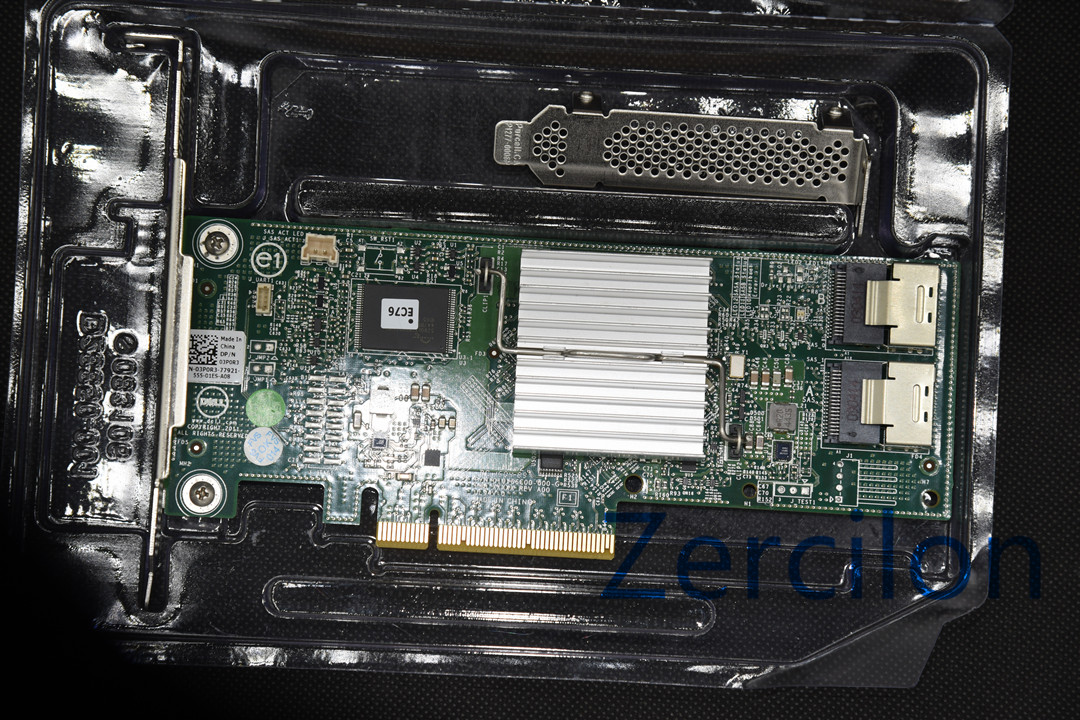 Б/у оригинальный контроллер Dell Perc H310 SATA / SAS HBA RAID 6 Гбит/с PCIe x8 LSI 9240-8i M1015 P20 IT MODE