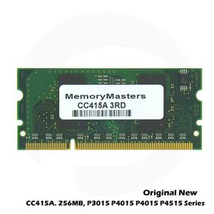 Novo Original Para HP P3015 P4015 P4014 DDR2 P4515 4015 4515 HP4015 Series 256MB 128MB 200 Pin DIMM Memória x32 CC515A CC514A