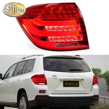 Car Styling for Toyota Highlander Tail Lights 2008 ~ 2012 Highlander LED Tail Light Rear Lamp DRL+Brake+Park+Signal