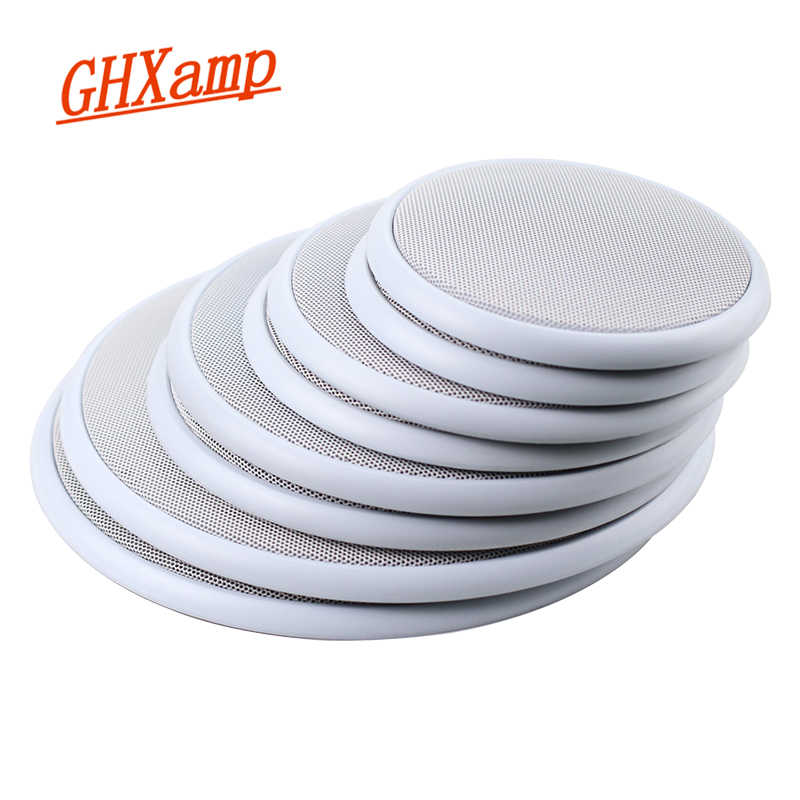 Ghxamp 2pcs 4 Inch 5 Inch 8 Inch Car Ceiling Speaker Grill Mesh Enclosure Net 6 5 Inch Protective Cover Subwoofer Diy Abs White Abs Diy Abs Coverabs Enclosure Aliexpress
