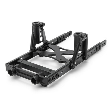 Durable Steel Body Chassis 6x6 Frame Kit for 1/10 Axial SCX10 RC Climbing Car Upgrade Parts Modify Accessories