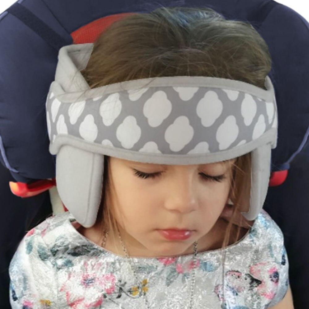 for 0-2 Years Baby Banana Shape Travel Pillow,Best Headrest for Car Seat,Pushchair White Inchant Adjustable Toddler Headrest Neck Support