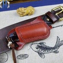 Vượt Qua Nhanh Gấp Gọn Bộ Thợ Săn Dao Thẳng Da Cạp Cắt Vỏ Bảo Vệ Dao Túi Da Bò Handmade