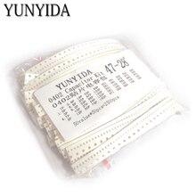 0402 SMD 세라믹 커패시터 모듬 키트 1pF ~ 10 미크로포맷 50values * 50pcs = 2500pcs 칩 세라믹 커패시터 샘플 ki