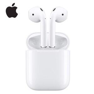 Apple Airpods 2 1st оригинальные беспроводные bluetooth-наушники Tones Connect Siri с зарядным чехлом для iPhone iPad Mac Apple Watch