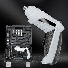 Tournevis électrique Portable 3.6V, chargement USB, sans fil, Rechargeable, main, perceuse pratique, fournitures électriques, outils électriques