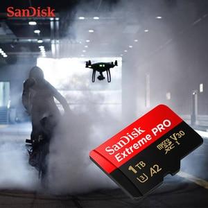 Image 2 - SanDisk Extreme Pro 1TB Memory Card micro sd class 10 cartao de memoria U3 A2 V30 1TB tf flash card