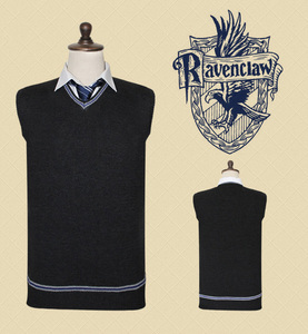 Image 4 - Free Shipping Hufflepuff Cosplay Robe Cloak Skirt Shirt Sweaters Tie Scarf Uniform for Harris Costume