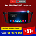 Junsun V1 pro 2G + 128G Android 10 для PEUGEOT 508 2011 - 2018 автомобильный Радио Мультимедиа Видео плеер навигация GPS 2 din dvd