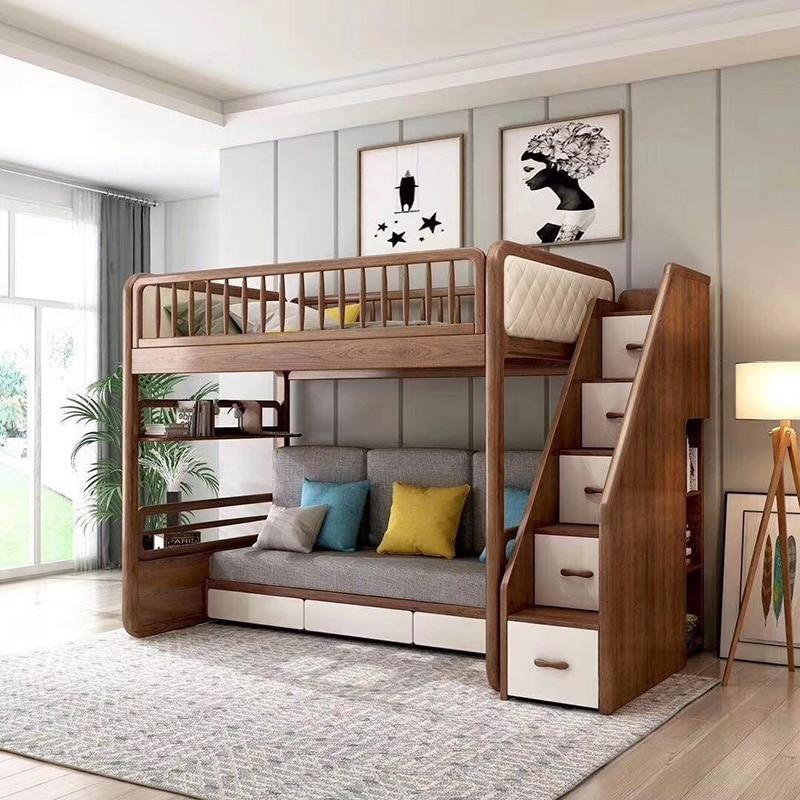 Usa Multifunctional Modern Children Kids Folding Sofa Bunk Bed Bedroom Sets Aliexpress