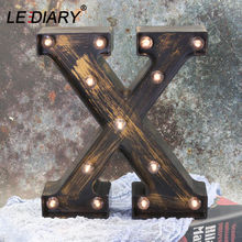 Светодиодный ночник iary с 26 буквами праздничный настенный