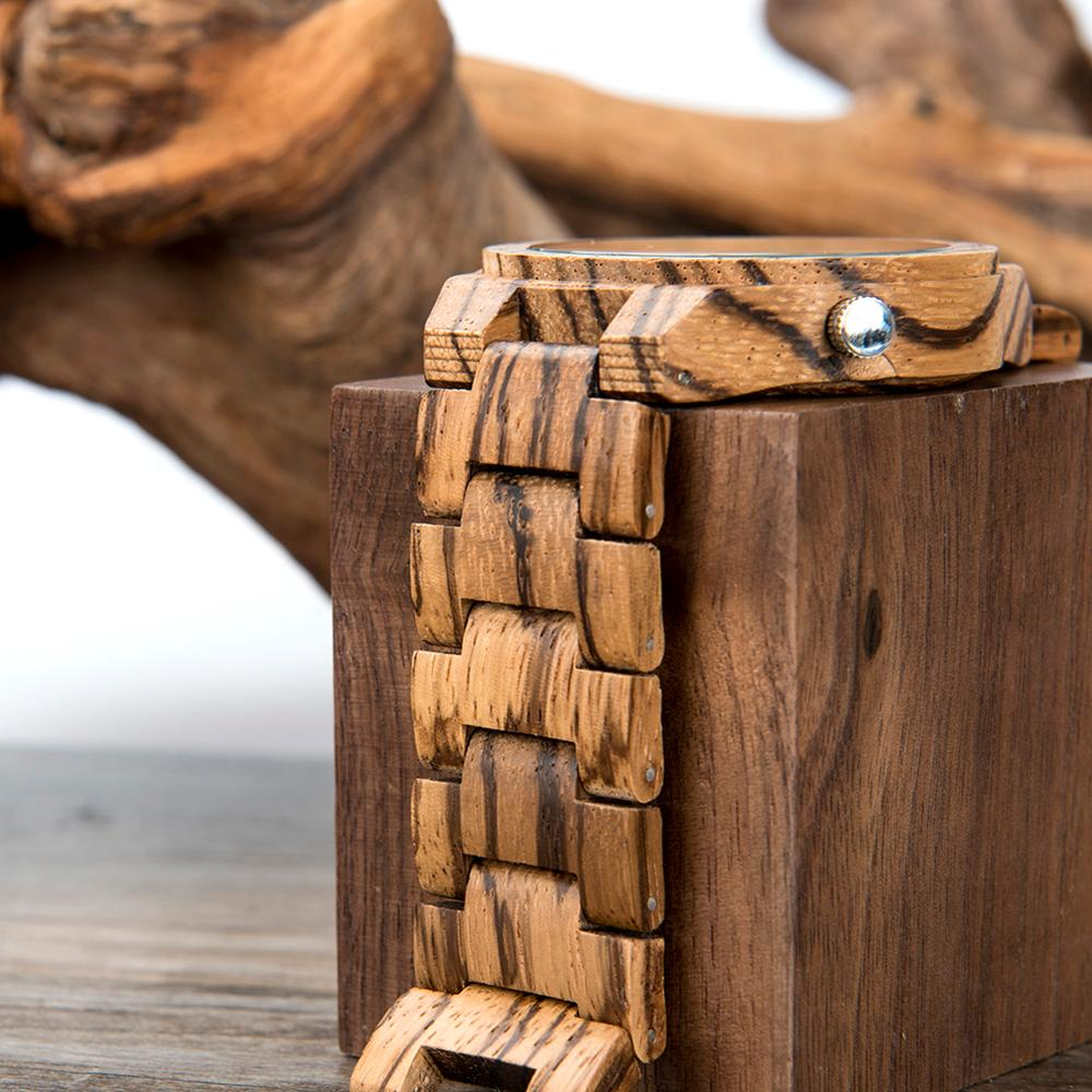 Image 3 - reloj hombre BOBO BIRD Wooden Mens Watches Top Brand Luxury  Japan Movement Watch Men Relogio Masculino OEM DropshippingQuartz Watches   -