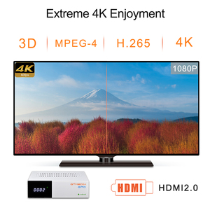 Image 4 - GTmedia GTC الذكية أندرويد 6.0 صندوق التلفزيون 4K الترا HD 2G 16G فيلم واي فاي DVB S2/T2/كابل/ISDBT مشغل الوسائط فك التشفير دعم m3u