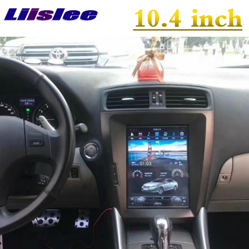 For <font><b>Lexus</b></font> <font><b>IS</b></font> <font><b>250</b></font> 300 350 2005~2013 For Toyota Altezza NAVI LiisLee Car Multimedia Big Screen GPS WIFI Audio Radio Navigation MAP image
