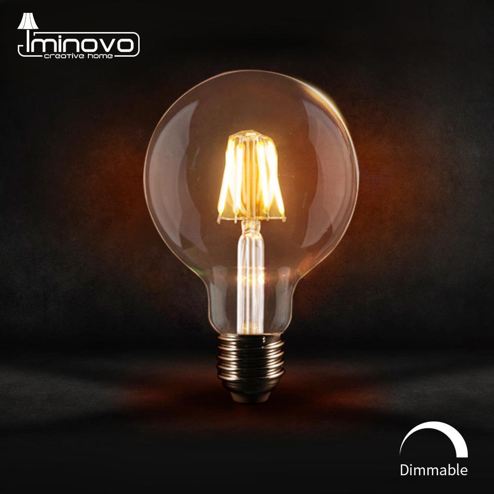 LED Filament Bulb E27 E14 Vintage Edison Lamp 220V 110V Retro Candle Light Globe Ampoule Lighting COB Home Decor Dimmable