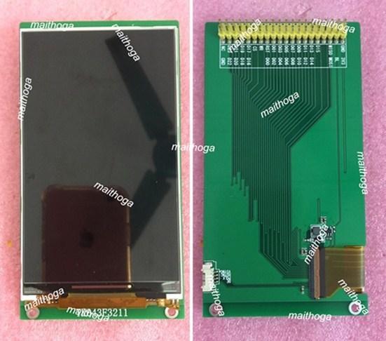 Màn Hình IPS 4.3 Inch 61P 16.2M TFT LCD Màn Hình (Hội Đồng/Không Ban) LG4573B Ổ IC 18/24Bit RGB + Giao Diện SPI 480 (RGB) * 800