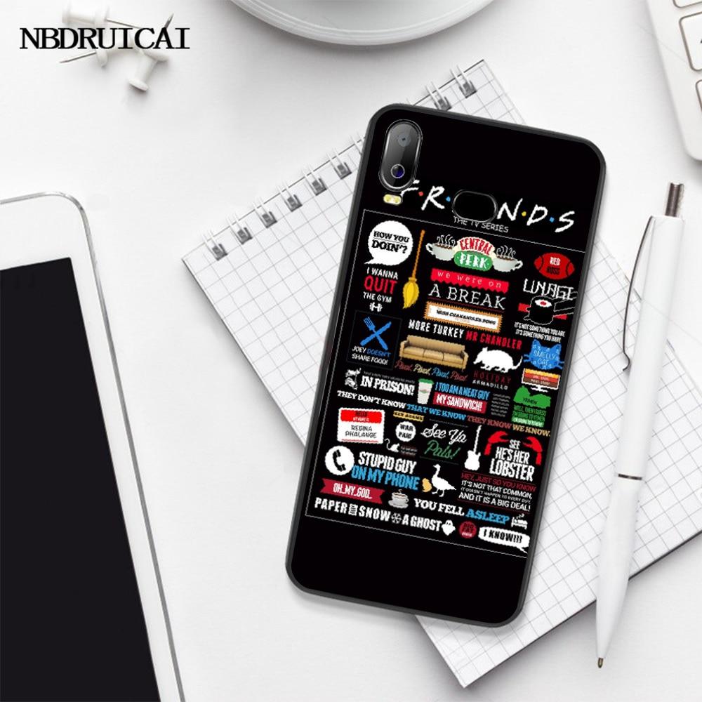 NBDRUICAI przyjaciółmi program telewizyjny CENTRAL PERK luksusowe, unikalny wzór telefon pokrywa dla SamsungA10 A20 A30 A40 A50 A70 A7 A9 A6 A8 Plus 2018