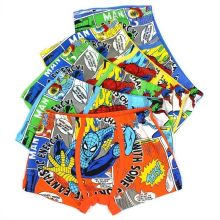 3pcs/lot Boys Kids Clothes Children's Underpants Underwear Briefs Cartoon Panties Cotton Panty Spiderman Panties(China)