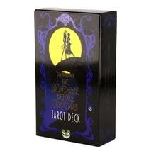 Le cauchemar avant noël Tarot Deck et guide 78 cartes Deck et jeu de cartes jeu de société Divination Tell The Future TOY