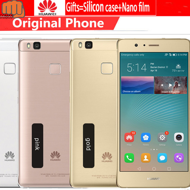 "Original Huawei P9 Lite Mobile Phone FHD 1920X1080 3G RAM 16G ROM 13MP MSM8952 Octa Core 5.2"" Android 6.0 smartphone Fingerprint"