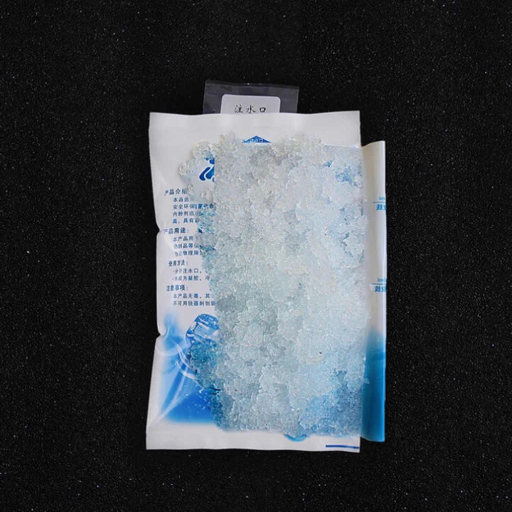 قابلة لإعادة الاستخدام 5 قطعة/الوحدة هلام الجليد حقيبة معزول الجافة حزمة الجليد الباردة هلام حقيبة للحفاظ على البرودة للأغذية الطازجة الغذاء الجليد حقيبة