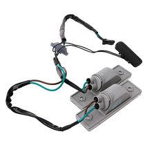2 pces interruptor do tronco botão da placa de licença luz durável leve interruptor de volta profissional para chevro deixe cruz 2009-2014 tronco