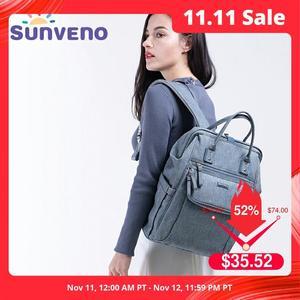 Image 1 - Sunveno New Diaper Bag Backpack Large Capacity Waterproof Nappy Bag Kits Mummy Maternity Travel Backpack Nursing Handbag