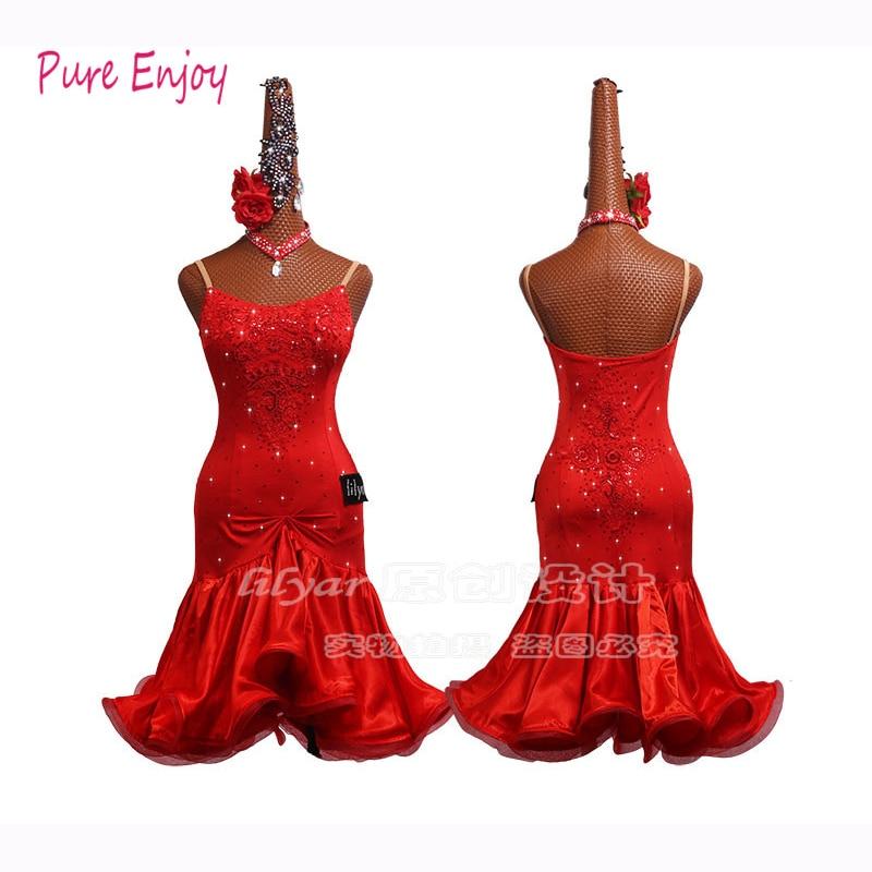 New Latin Dance Dress For Women Girl Kids Tango Samba Rumba Latin Dance Competition Dresses Latin Dance Costumes For Girl Women