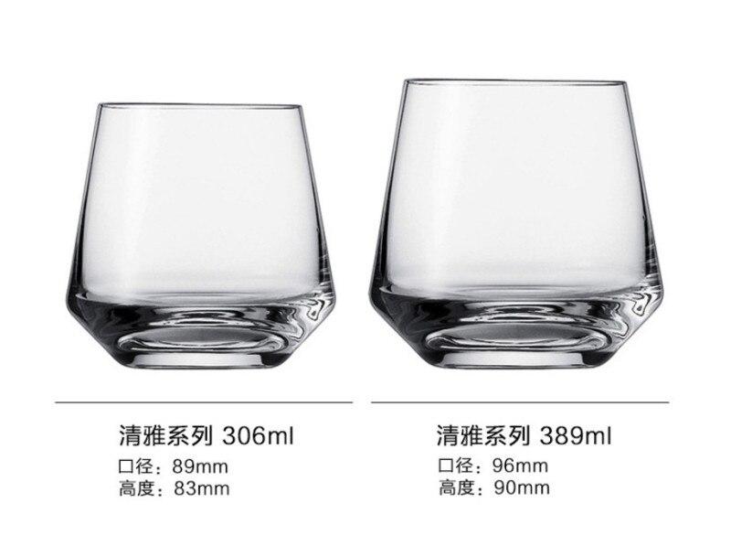 Молочные чашки Verre бар бокал для вина Хрустальная чашка аксессуары пивной сок коктейль виски shot vinho шампанского tazas VEMs de vidrio - Цвет: A 306ml