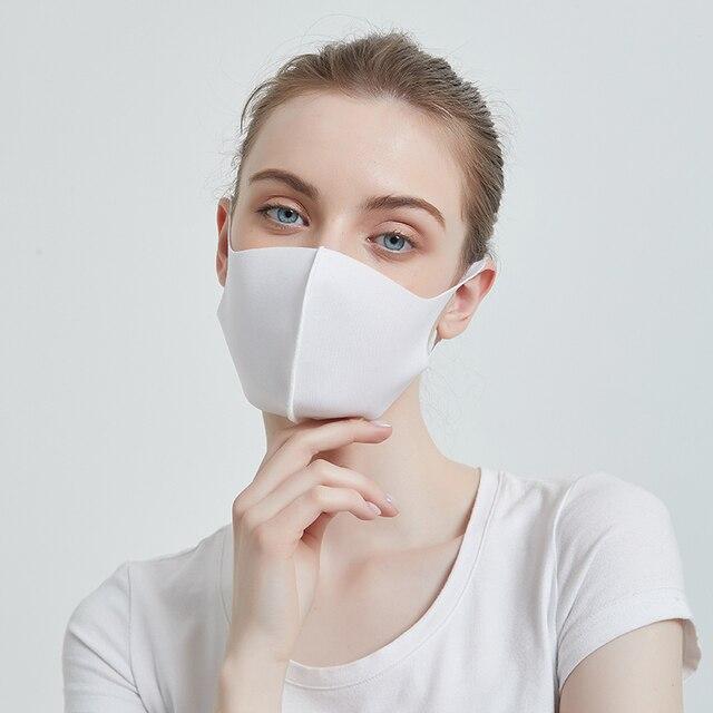 [FEILEDIS]Mouth Mask Anti Haze Dust Washable Reusable Women Men Child Dustproof Mouth-muffle Winter Warm Mask  4 colors 4