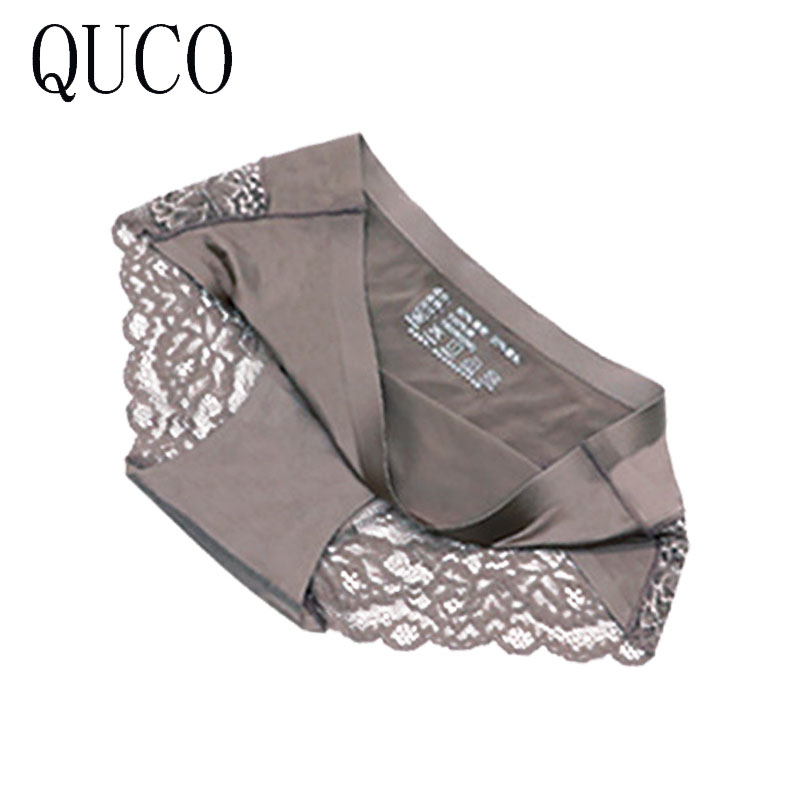 QUCO brand 6pcs/lot women panties sexy pink underwear  cotton ropa interior femenina lingerie calcinha feminina women underwear 2