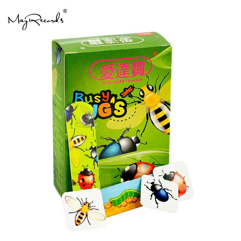 Free Shipping Waterproof Breathable 60 PCS/3Boxes Assorted Cartoon Adhesive Bandages Hemostasis Band Aid Travel Emergency Kit