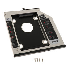 9,5mm SATA 2 ° disco duro Caddy para IBM Lenovo Thinkpad T400 T410 aluminio(China)