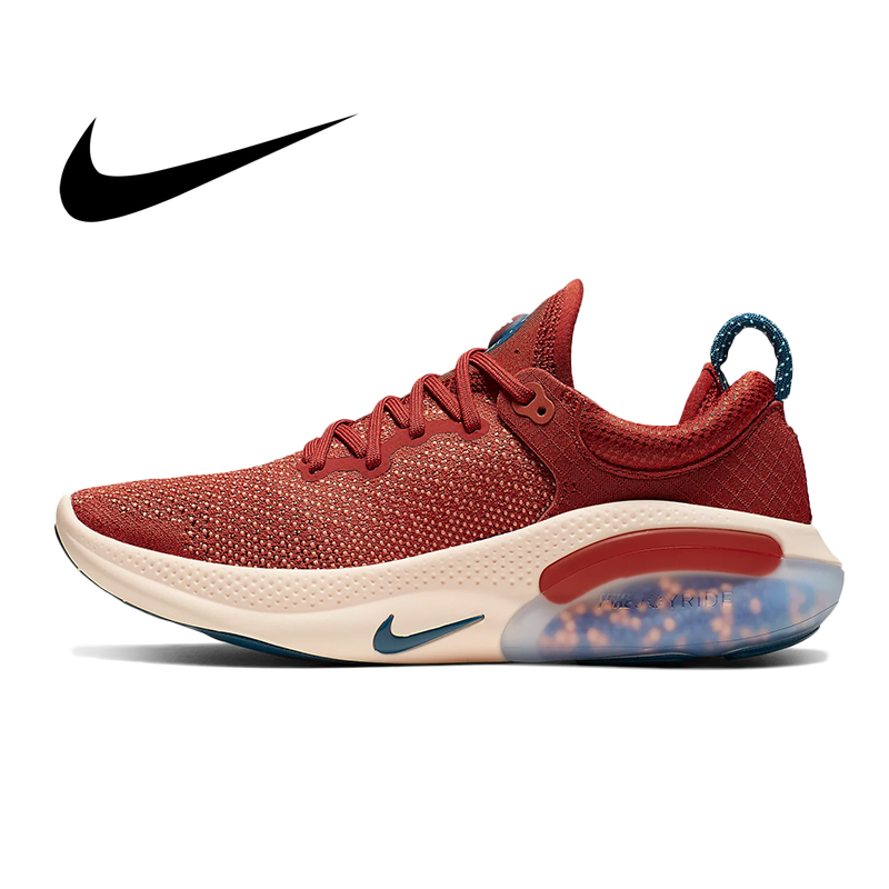 Original Nike Joyride Run FK Men's Sports Running Shoes Cozy Lightweight Mesh Breathable Sport Outdoor Sneakers AQ2730-600 image