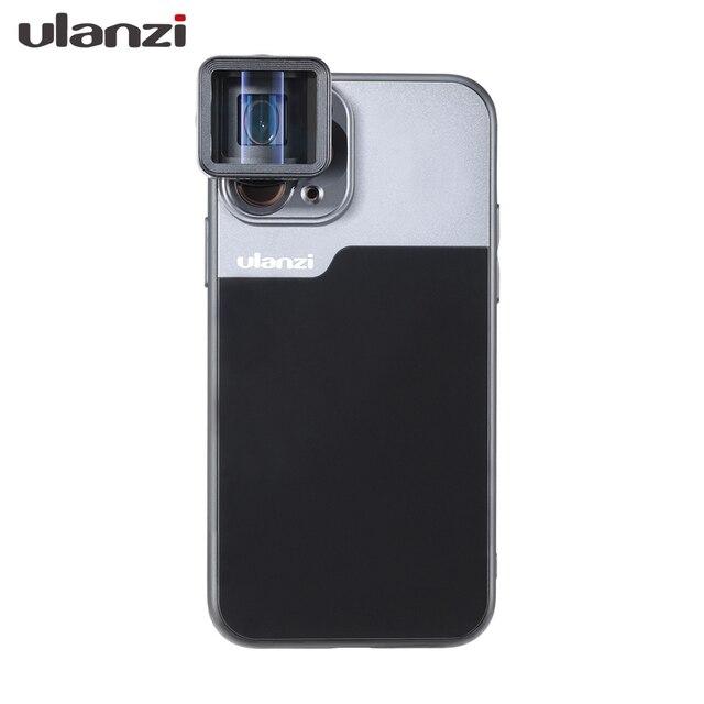 울란지 17MM 폰 렌즈 폰 케이스, iPhone 11/11 Pro/11 Pro Max 아나모픽 렌즈, 17MM 순간 렌즈 용 Ulanzi DOF 렌즈 어댑터