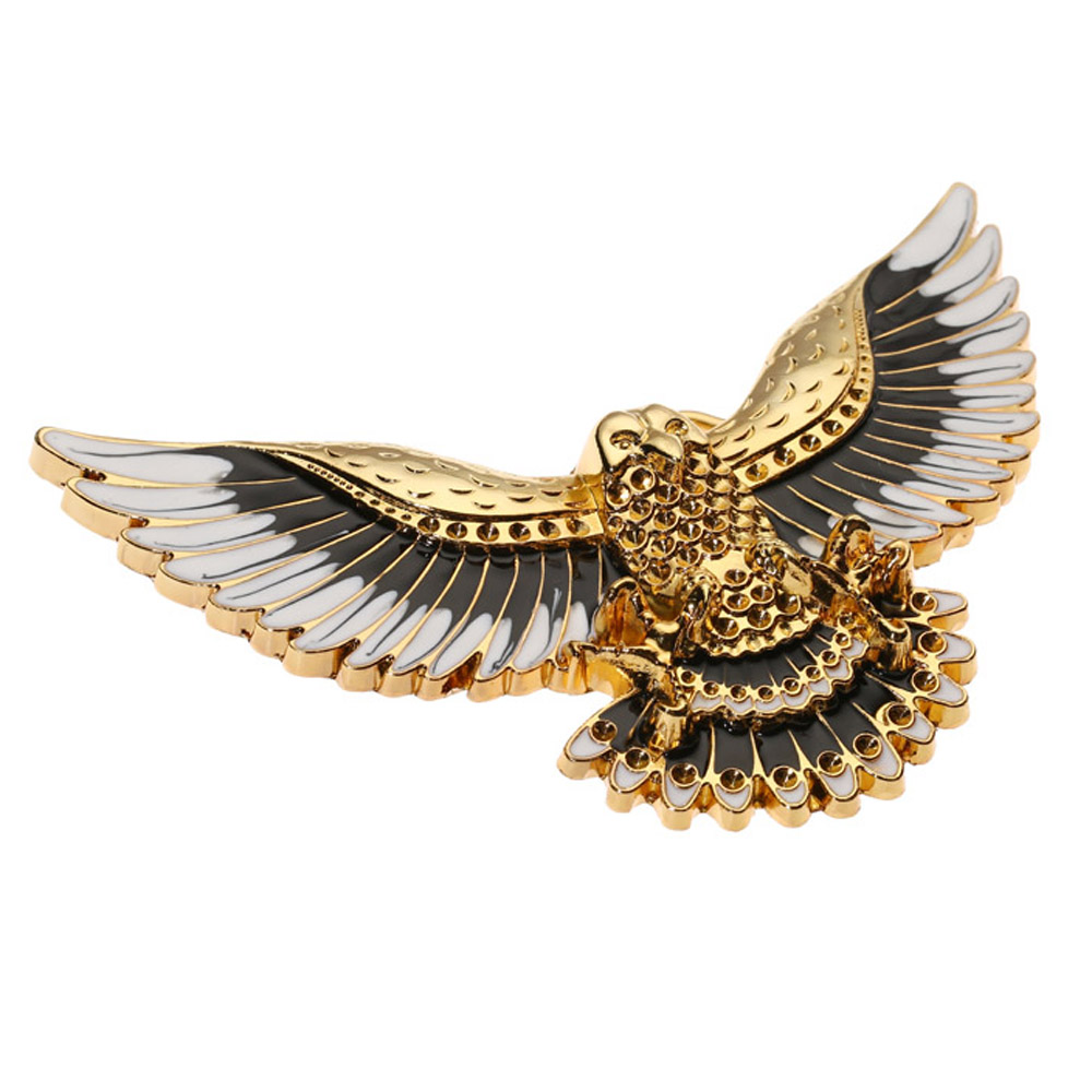 Gold Flying Eagle Cowboy  Belt Buckle For Man Western Cowboy Buckle Without Belt Custom Alloy Width 4cm
