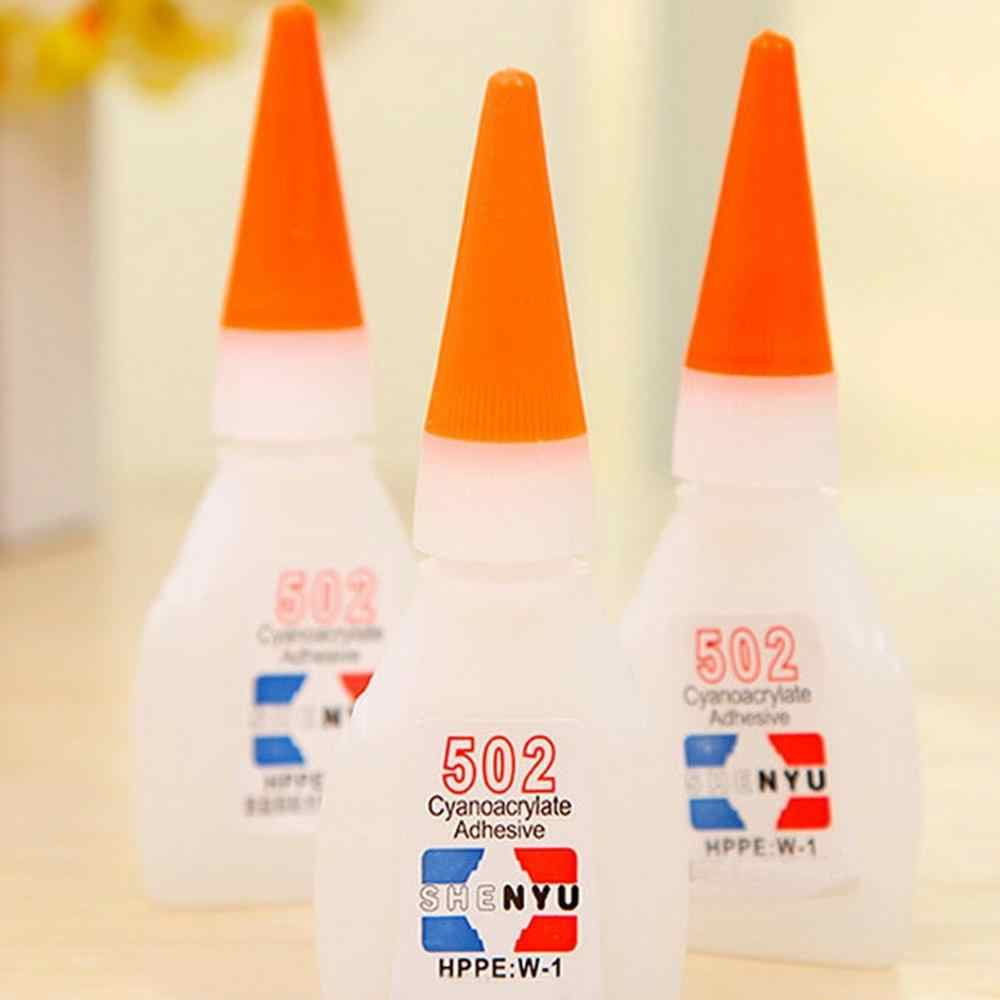 1/5PCS High Quality 502 Super Glue Multi-Function Glue Genuine Cyanoacrylate Adhesive Strong Bond Fast For Office Tools