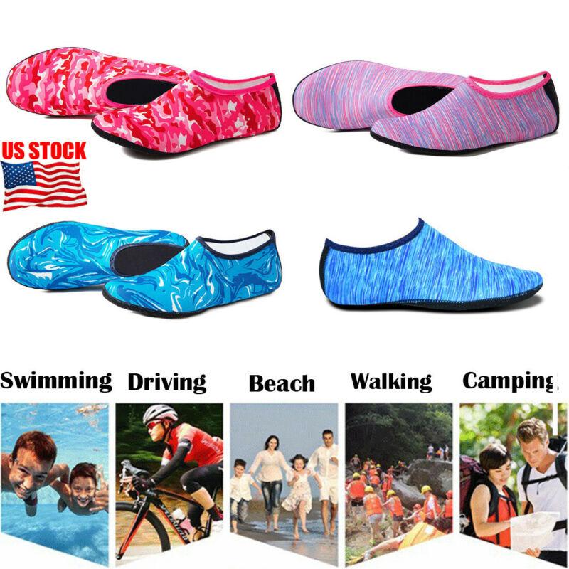 2020 Beach Swimming Water Sport Socks Anti Slip Shoes Yoga Fitness Dance Swim Surfing Diving Underwater Shoes For Men Women Kids
