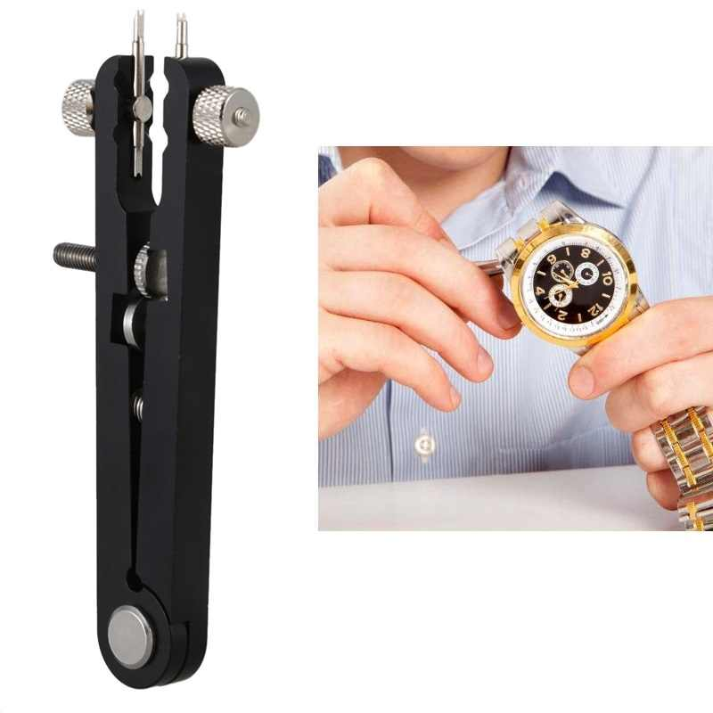 6825腕時計ストラップリムーバツールプロフェッショナルv字型春バープライヤー職人のための時計ツール