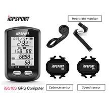 Igpsport igs10s mtb bicicleta computador gps à prova dgps água ipx6 ant + sem fio ciclismo velocímetro digital cronômetro acessórios
