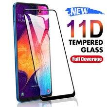 Vidro De Proteção Para Samsung Galaxy A01 11D A11 A21 A31 A41 A51 A71 Protetor de Tela M21 M31 M51 A10 A20E A30 A50 Vidro Temperado