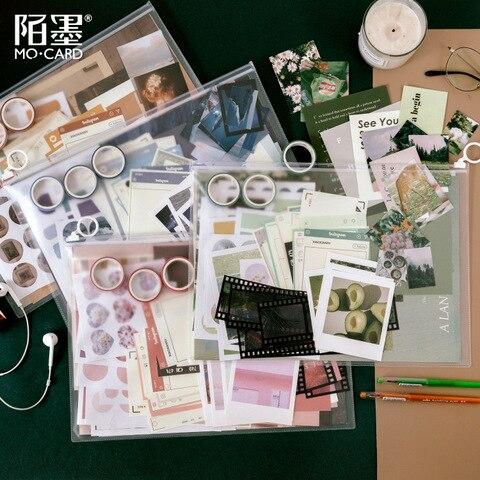 material do pacote conjunto de arte album serie ins vento cartaz da parede mao conta