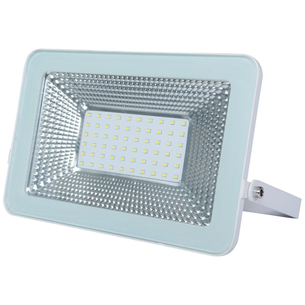 1PCS Ultrathin LED Flood Light 100W IP65 110V/220V LED Spotlight Refletor Outdoor Lighting Wall Lamp Floodlight