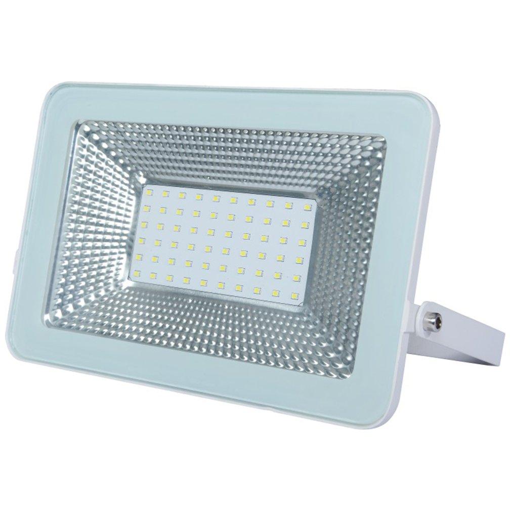 1PCS Ultrathin LED Flood Light 100W IP65 110V/220V LED Spotlight Refletor Outdoor Lighting Wall Lamp Floodlight
