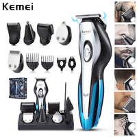 Kemei hair trimmer KM5031electric hair cutting machine professional clipper shaving beard rechargeable tools trimer cliper 5
