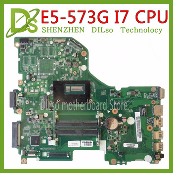 KEFU-placa base de E5-573G para Acer Aspire E5-573G, placa base I7 CPU...