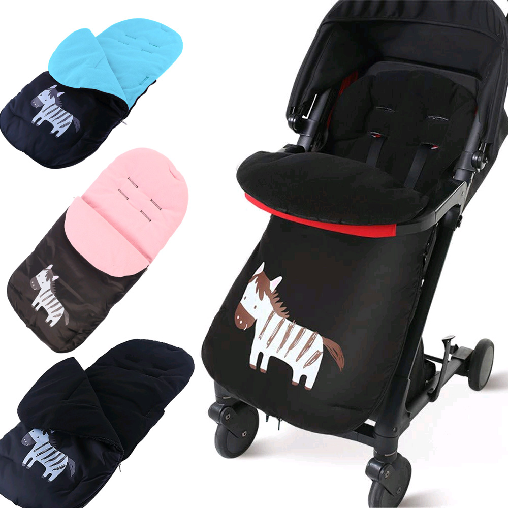 Waterproof Windproof Comfortable Toes Cover (Babies Over 12 Months) Universal Stroller Sleeping Bag Pink Winter Baby Footmuff Pushchair Cotton Cushions Seat Liner